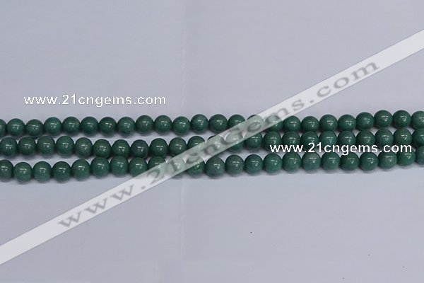 CMJ290 15.5 inches 8mm round Mashan jade beads wholesale
