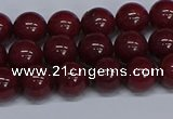 CMJ31 15.5 inches 8mm round Mashan jade beads wholesale