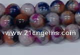 CMJ430 15.5 inches 8mm round rainbow jade beads wholesale