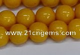 CMJ47 15.5 inches 12mm round Mashan jade beads wholesale
