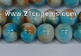 CMJ578 15.5 inches 10mm round rainbow jade beads wholesale