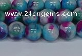 CMJ613 15.5 inches 10mm round rainbow jade beads wholesale