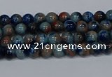 CMJ631 15.5 inches 4mm round rainbow jade beads wholesale