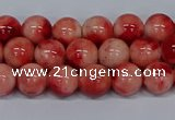 CMJ682 15.5 inches 8mm round rainbow jade beads wholesale