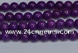 CMJ71 15.5 inches 4mm round Mashan jade beads wholesale