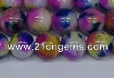 CMJ712 15.5 inches 12mm round rainbow jade beads wholesale