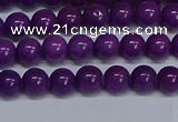 CMJ72 15.5 inches 6mm round Mashan jade beads wholesale