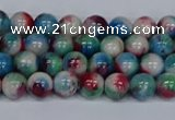 CMJ730 15.5 inches 6mm round rainbow jade beads wholesale