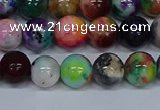 CMJ753 15.5 inches 10mm round rainbow jade beads wholesale