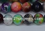 CMJ754 15.5 inches 12mm round rainbow jade beads wholesale