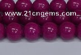 CMJ81 15.5 inches 10mm round Mashan jade beads wholesale