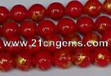 CMJ935 15.5 inches 4mm round Mashan jade beads wholesale