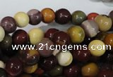 CMK203 15.5 inches 8mm round mookaite gemstone beads wholesale