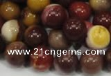 CMK80 15.5 inches 14mm round mookaite gemstone gemstone beads