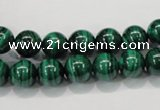 CMN152 AA grade 10mm round natural malachite beads Wholesale