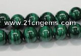 CMN153 AA grade 12mm round natural malachite beads Wholesale
