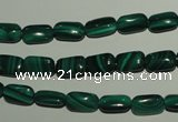 CMN301 15.5 inches 6*10mm rectangle natural malachite beads wholesale