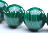 CMN33 16mm A grade round natural malachite beads Wholesale