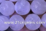 CMS1404 15.5 inches 12mm round white moonstone beads wholesale