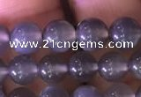 CMS1421 15.5 inches 6mm round black moonstone beads wholesale