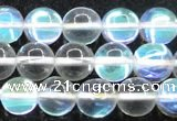 CMS1503 15.5 inches 10mm round synthetic moonstone beads wholesale