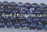 CMS1511 15.5 inches 6mm round synthetic moonstone beads wholesale