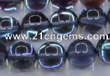 CMS1514 15.5 inches 12mm round synthetic moonstone beads wholesale