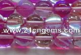 CMS1544 15.5 inches 12mm round synthetic moonstone beads wholesale