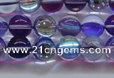 CMS1573 15.5 inches 10mm round synthetic moonstone beads wholesale