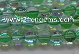 CMS1601 15.5 inches 6mm round synthetic moonstone beads wholesale