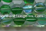 CMS1603 15.5 inches 10mm round synthetic moonstone beads wholesale