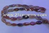 CMS597 15.5 inches 13*20mm - 15*28mm faceted freeform moonstone beads