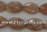 CMS966 15.5 inches 10*14mm faceted oval A grade moonstone beads