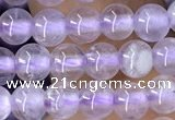 CNA1140 15.5 inches 4mm round lavender amethyst beads wholesale