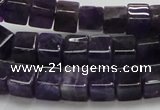 CNA46 15.5 inches 8*8*8mm cube grade A natural amethyst beads