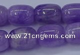 CNA717 15.5 inches 12*16mm drum lavender amethyst beads