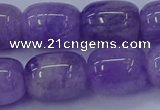 CNA718 15.5 inches 13*18mm drum lavender amethyst beads