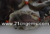 CNG1052 15.5 inches 15*25mm - 30*40mm nuggets agate gemstone beads