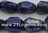 CNG1089 15.5 inches 15*20mm - 18*25mm faceted nuggets lapis lzuli beads