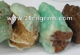 CNG1317 10*20mm – 20*40mm nuggets australia chrysoprase beads