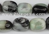CNG17 15.5 inches 12*16mm nuggets amazonite gemstone beads