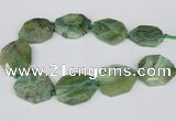 CNG2148 15.5 inches 30*40mm - 35*45mm freeform agate gemstone beads