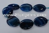 CNG2629 15.5 inches 40*50mm - 45*55mm freeform agate gemstone beads