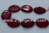 CNG2656 15.5 inches 38*48mm - 42*55mm freeform agate beads