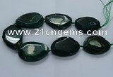 CNG2659 15.5 inches 38*48mm - 42*55mm freeform agate beads