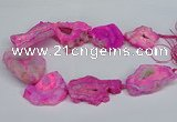CNG2674 15.5 inches 30*40mm - 40*50mm freeform druzy agate beads