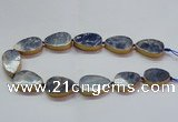 CNG2726 15.5 inches 18*28mm - 20*30mm freeform sodalite beads
