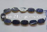 CNG2727 15.5 inches 18*28mm - 20*30mm freeform lapis lazuli beads