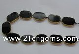 CNG2729 15.5 inches 18*28mm - 20*30mm freeform agate beads