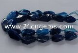 CNG2735 15.5 inches 15*30mm - 20*40mm nuggets agate beads